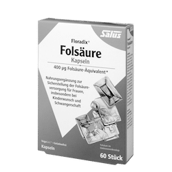 SALUS Haus Floradix®, Folic acid capsules