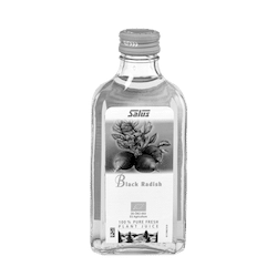Pure fresh plant juice Black Radish