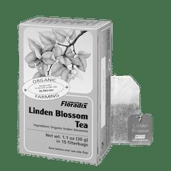 Linden blossom tea