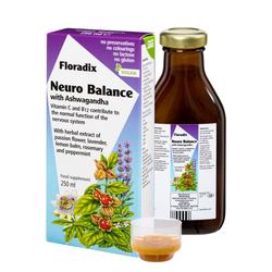SALUS Haus Floradix  Neuro Balance, Liquid herbal formula