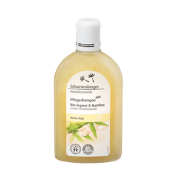 Schoenenberger Care shampoo plus Organic ginger & bamboo