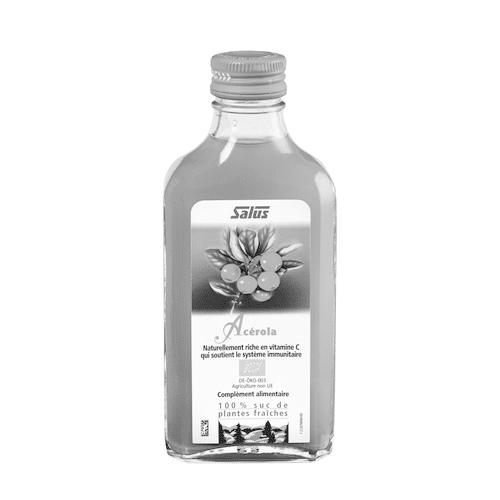 Pure fresh plant juice Acerola