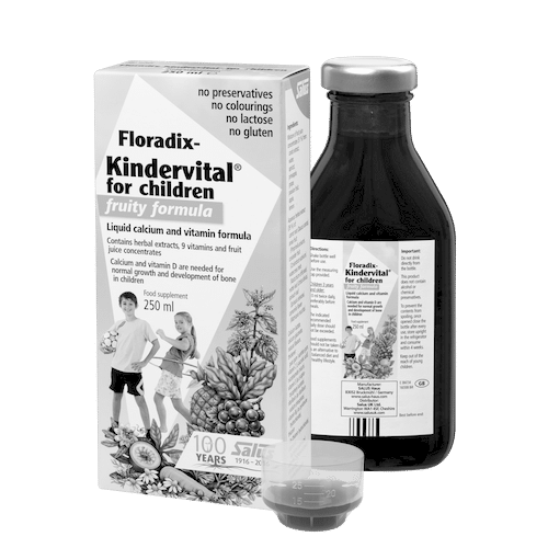 SALUS Haus Floradix  Kindervital® for children - fruity formula, Liquid calcium and vitamin formula