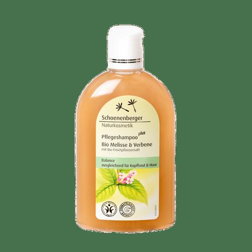 Schoenenberger Care shampoo plus Organic melissa & verbena