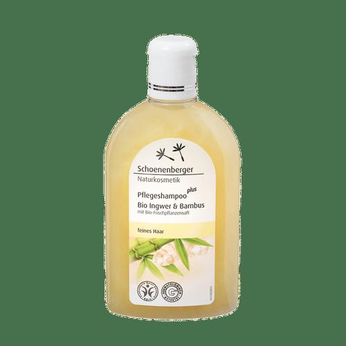 Schoenenberger Care shampoo plus Organic ginger & bamboo