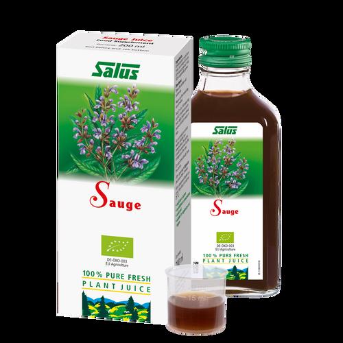 Pure fresh plant juice Sage