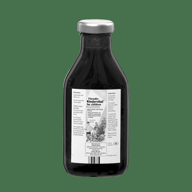 SALUS Haus Floradix  Kindervital® for children - fruity formula, Liquid calcium and vitamin formula