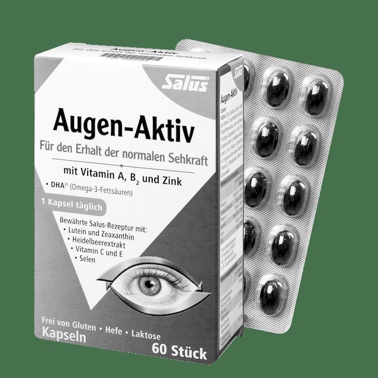 Eye active capsules