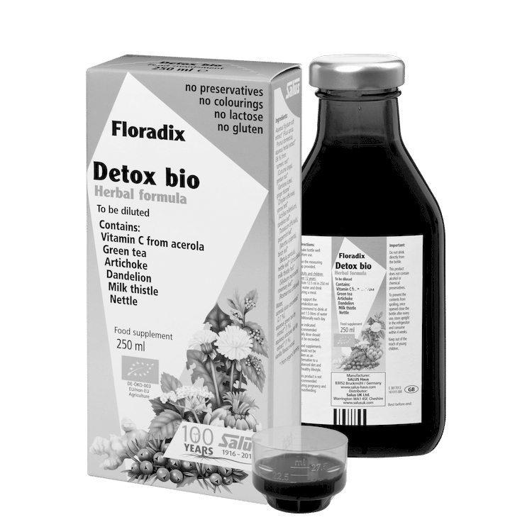 SALUS Haus Floradix  Detox, Herbal formula - to be diluted