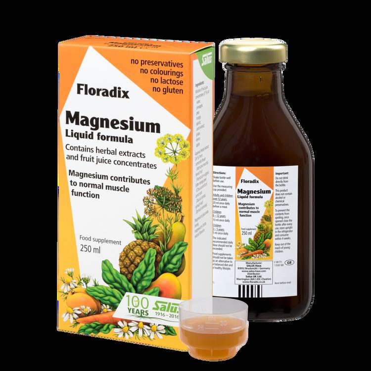 Floradix  Magnesium, Liquid formula