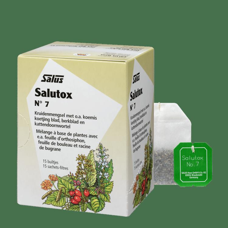 Salutox, Herbal tea